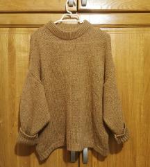 Smeđi džemper UNI