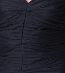 HALSTON HERITAGE crna duga večernja haljina