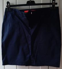 MANGO/tamno plava suknja