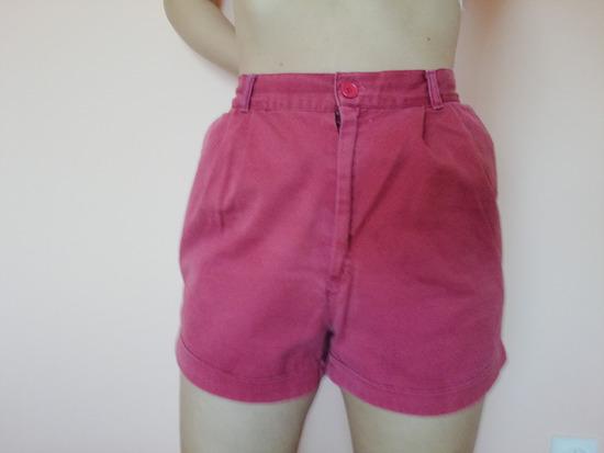 Kratke crvene hlačice 42