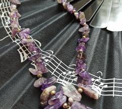 Ametist ogrlica