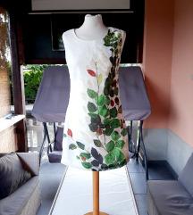 Bijela haljina s aplikacijom, veličina S
