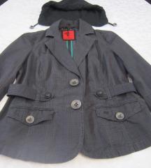 S. OLIVER nenošena karirana jaknica-sako