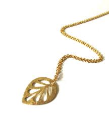 Mjedena ogrlica SAGE
