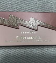 Sephora NOVO sjenilo flash sequins