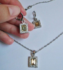 NOVO! Set naušnice + ogrlica