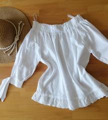 Bijela ljetna bluza xs
