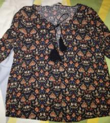 MANGO - boho bluza