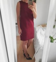 Mango tamno crvena haljina