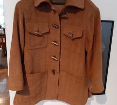 Ekskluzivna jakna od vune i svile L /