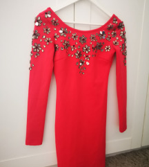 Crvena Asos haljina