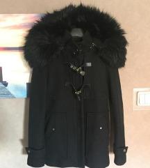 Zara kaput s bogatim krznom