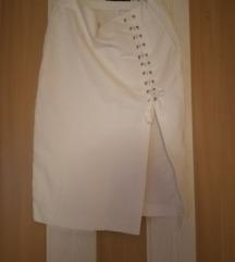 Zara suknja s prorezom