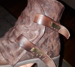 Čizme kožne fabriziochini