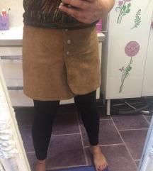 H&M kožna suknja 40
