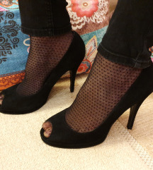 BUFFALO London kožne crne cipele Vel. 39 D