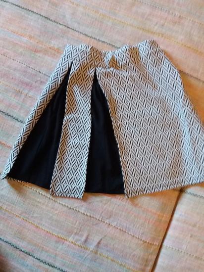 Nova crno-bijela suknja