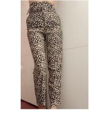 Leopard print high waist