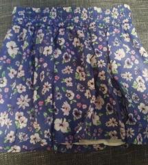 Leprsava cvjetna suknja