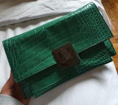 Zelena pismo torba