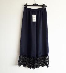 Zara suknja hlace M velicina