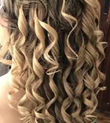 novo Hair Wavz long set uvijača