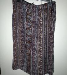 Boho lagana suknja
