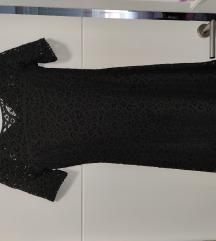 Crna haljina s rukavima
