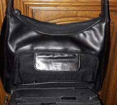Kožna torba novčanik 2u1
