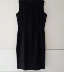Zara crna elegantna haljina L veličina