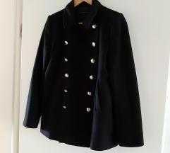 Zara kratki crni kaput