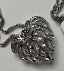 Velika akcija Nova ogrlica lančić srce