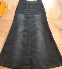 XS/S duga traper suknja