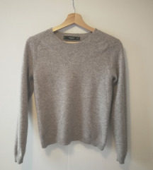 Mango sivi pulover od čistog kašmira