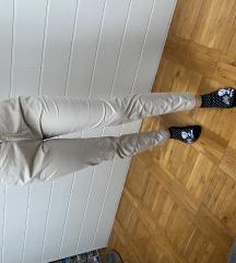 Krem hlače H&M