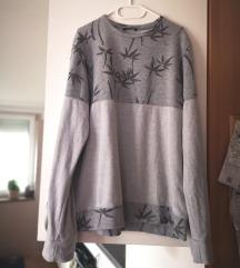 [% SADA 10KN %] Sivi oversize pulover