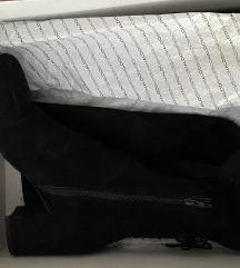 ALDO visoke kožne čizme Adessi (govedska koža)