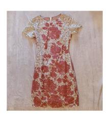 dizajnerska haljina cvjetnog uzorka