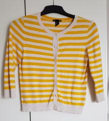 H&M vesta žuta