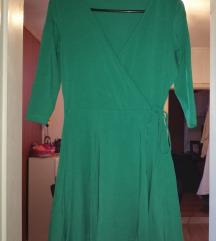 ASOS VERO MODA smaragdno zelena haljina