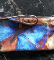NOVA Poushet / Platnena torbica s leptirom