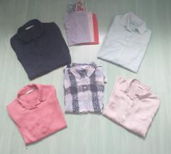 Lot kosulja bluza + potkošulje