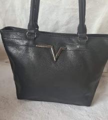 Nova crna torba na v izrez