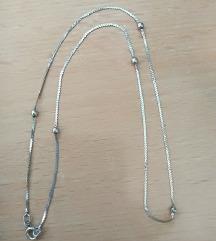 Unikatna ručno rađena ogrlica od srebra