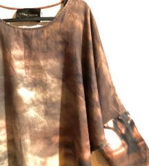 Stine Goja dizajnerska tunika, pamuk i cupro
