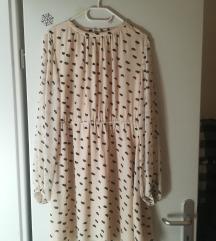 H&M šifon haljina - novo