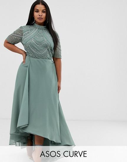 ASOS Design CURVE Maxi Dress haljina