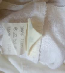 MAX DINE klasične lanene hlače