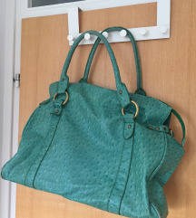 Lijepa zelena putna torba