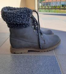 Sive kožne čizme